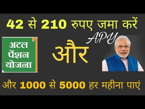 Atal Pension Yojana (APY) | How To Apply And Exit | Explain Pradhanmantri APY [Hindi]