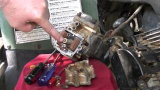 2. Cleaning the Carburetor on a Yamaha Big Bear 350!
