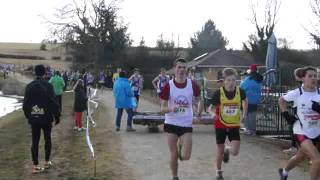 Arnay France  city photo : course cadets pré France cross country arnay le duc 19 février 2012