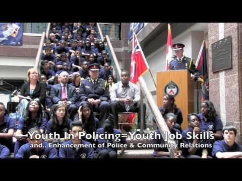 Youth In Policing Initiative Gives Youth Job Skills And Enhances Police & Community Relations