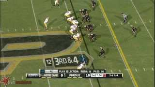 Chris Watt vs Purdue (2013)
