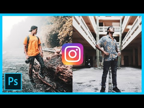 How to edit pictures MOODY/DARK for INSTAGRAM - ManitMedia