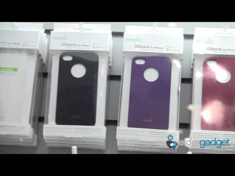 CES 2012 Video: Moshi iVisor and iGlaze