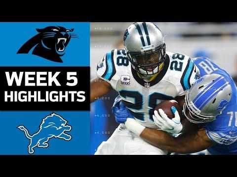 Panthers vs. Lions | NFL Week 5 Game Highlights - Thời lượng: 7:22.