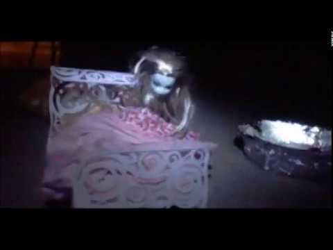 Barbie Alien Abduction