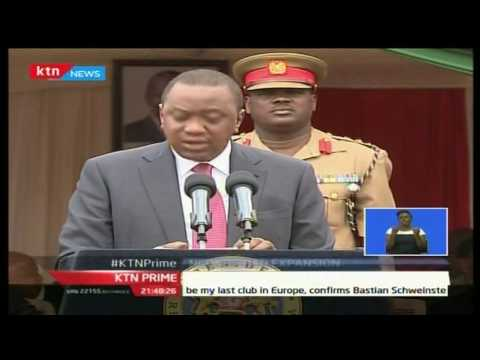 President Uhuru Kenyatta has officiated expansion of Ngong road phase one, will cost 1.32 billion sh