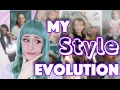 My Style Evolution   Fashion Phases   Embarassing Photos !