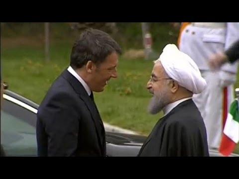 Ιράν: Συνάντηση Ρέντσι- Ροχανί για σύσφιξη εμπορικών συναλλαγών