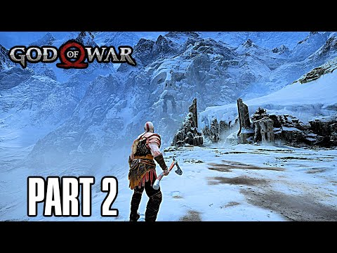 God of War - Gameplay Walkthrough Part 2 - Ascending The Mountain (PS5 Gameplay)