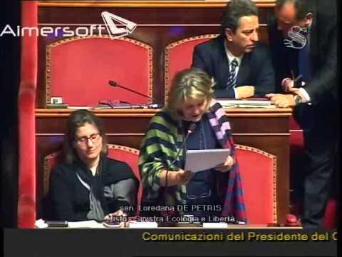 197a Seduta Pubblica del 24 febbraio 2014 – Intervento della Senatrice Loredana De Petris