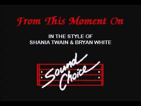 Karaoke - From This Moment On - Shania Twain & Bryan White