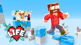 I did Lizzie's DANGEROUS Parkour... TWICE?! | Minecraft X Life #2