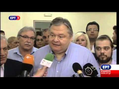 Ευ. Βενιζέλος: Αύριο ξημερώνει μία ημέρα που θα βρει την Ελλάδα ευρωπαϊκή