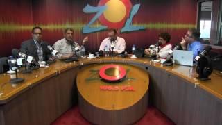 W.Perez reporta desde Palacio Nacional rueda de prensa Der. Presupuesto sobre situación suplidores