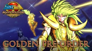 Saint Seiya Brave Soldiers - PS3 - Golden Pre-order (Trailer)