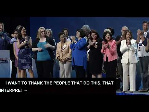 F*** President Donald Trump Chant As Nancy Pelosi Cheers At California Dem Party Convention (видео)