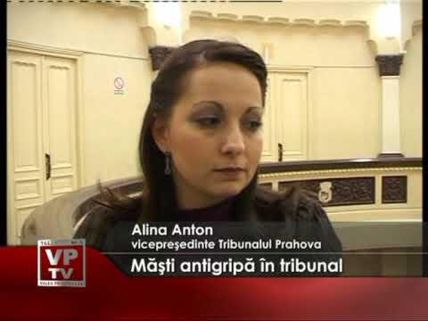 Masti antigripa la tribunal