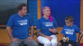 Savage Family on KCAL 9 News