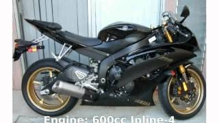 9. 2009 Yamaha YZF R6 -  Specification Dealers Info Specs superbike Details Engine Top Speed