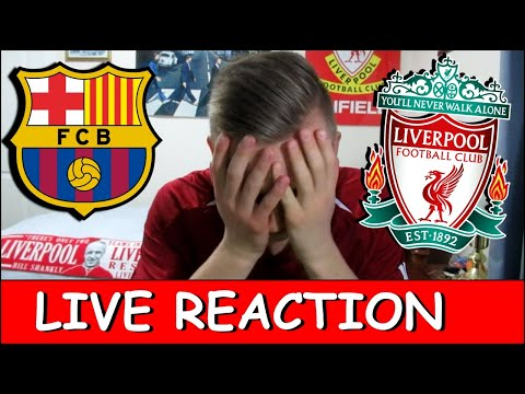 LIVE REACTION!! BARCELONA 3-0 LIVERPOOL...