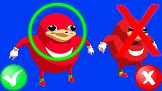 Ugandan Knuckles... IN HD!!!??!!?!! - Gmod Mod Review