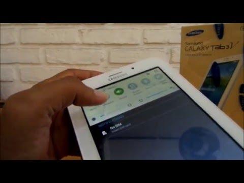 Antarmuka Samsung Galaxy Tab 3V