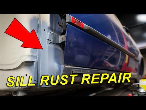MK2 Golf Sill & A-Post Welding Repair   Classic Car Restoration