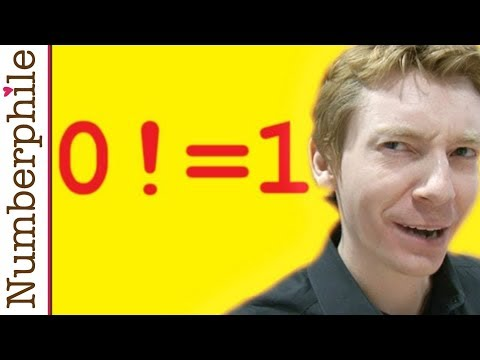 Video Zero Factorial - Numberphile download in MP3, 3GP, MP4, WEBM, AVI, FLV January 2017