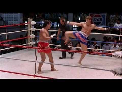 Кикбоксер. Kickboxer. Жан-Клод Ван Дамм показательный бой (видео)