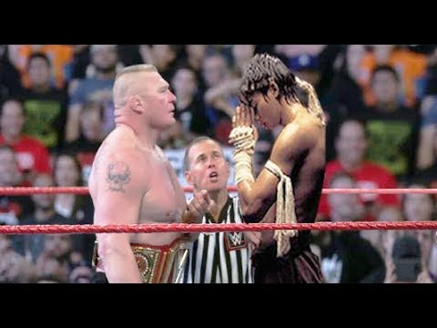 Tony Jaa vs Brock Lesnar