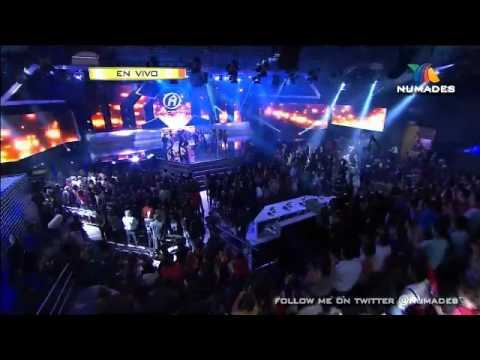 opening del concierto 1 de la academia 10 años 2012-8-26