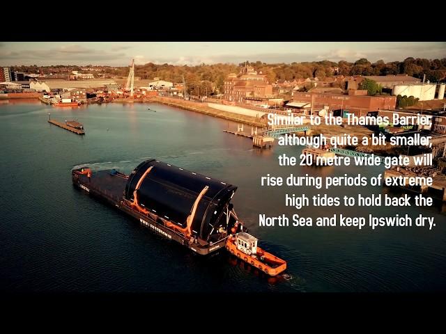 Ipswich Tidal Barrier