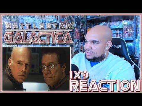 """Battlestar Galactica Reaction Season 1 Episode 9 """"Tigh Me Up, Tigh Me Down"""" 1x9 REACTION!!!"""