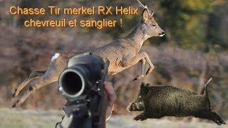 Chasse Tir Sanglier Et Chevreuil Avec La Merkel Rx Helix Et Aimpoint Hunter