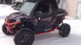 10. 2014 Polaris RZR XP 1000 With Custom Aluminum Cab