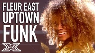 """▶︎ Fleur East Becomes A SUPERSTAR Performing """"Uptown Funk""""X Factor Global brings together the very best acts from around the world, keeping you up to date and ensuring that you never miss a thing! Subscribe to X Factor Global: https://www.youtube.com/user/xfactorglobalWatch more X Factor Global videos: https://www.youtube.com/user/xfactorglobal/videos"""