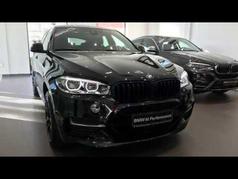BMW X6 M50d F16  performance 475 sapphire black metallic GMAT Alcantara leather anthracite