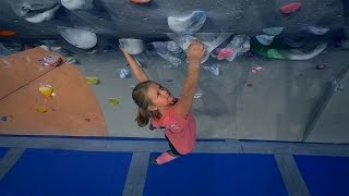 Climbing With One Of The Strongest 9 Year Olds In Sweden! by Eric Karlsson Bouldering