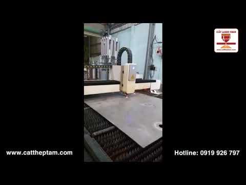 Cắt inox dày bằng laser
