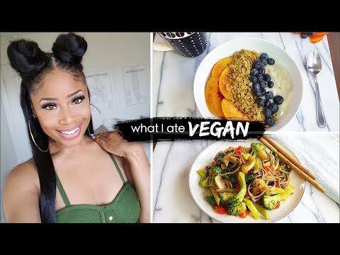 what I eat in a day ➟ GOOD EATIN' VEGAN
