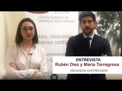 Vídeo entrevista María Torregrosa y Rubén Díez[;;;][;;;]