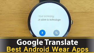 Google Translate now allows you to use your android wear smart watch to translate between different languages and display that to either yourself or the person you are talking to.https://play.google.com/store/apps/details?id=com.google.android.apps.translate