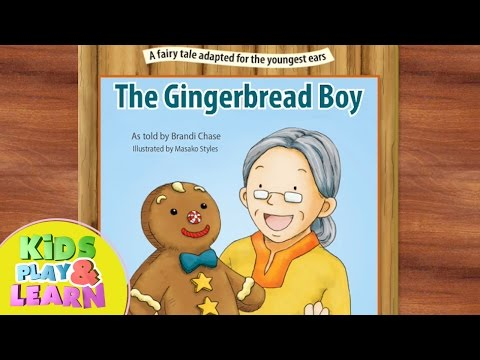 The Gingerbread Boy - Fairy Tale For Kids - By Starfall
