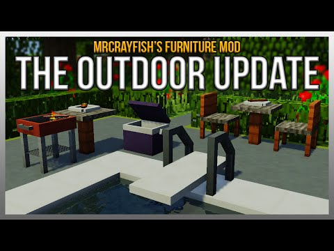 Mrcrayfish 39 s furniture mod v4 for Furniture mod 1 12 2