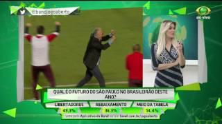 Comentarista critica defesa são paulina, mas acredita no potencial de Arboleda e compara o equatoriano com zagueiro palmeirense Mina.