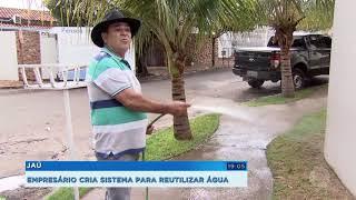 Empresário de Jaú cria sistema para reutilizar água