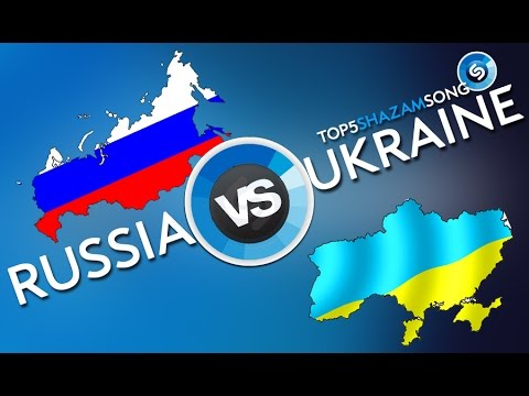 RUSSIA VS UKRAINE / SHAZAM / TOP 5 / РОССИЯ vs УКРАИНА (видео)
