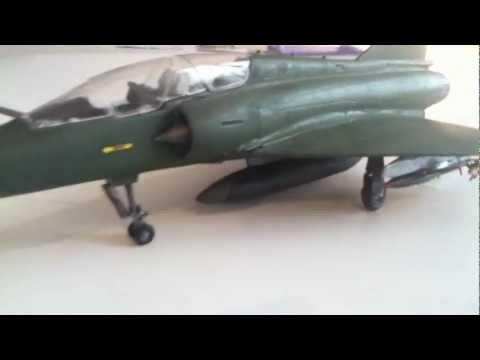 Mirage 2000 D Maquette échelle 1:72