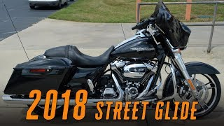 2. 2018 Harley-Davidson® FLHX - Street Glide Black Tempest BoomBox 6.5