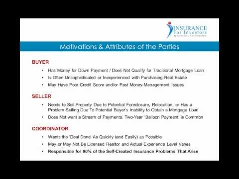 Properly Insuring Wrap-Around Mortgages